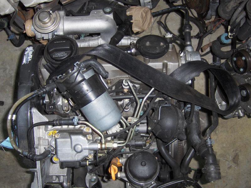 ΜΟΤΕΡ ΚΙΝΗΤΗΡΑΣ 1900 DIESEL AUDI VW SEAT SKODA 1.9