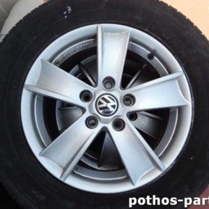 Ζάντες Γνήσιες μεταχειρισμένες VW AUDI SEAT SKODA 15 ΙΝΤΣΕΣ